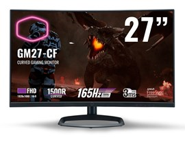 "Cooler Master GM27-CF 27"" Full HD Curved Monitor"