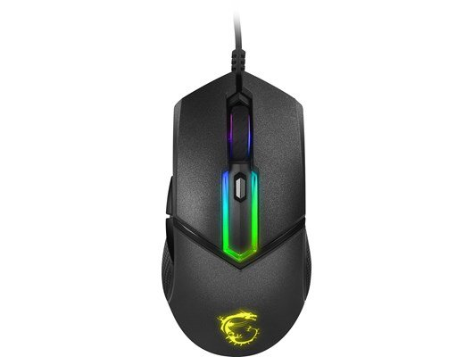 MSI CLUTCH GM30 Wired RGB Optical Gaming Mouse