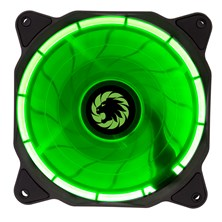 Game Max Eclipse (120mm) Green Ring LED Chassis Fan