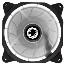 Game Max Eclipse (120mm) White Ring LED Chassis Fan