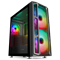GameMax F15M Mid Tower Gaming Case - Black USB 3.0