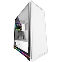 GameMax Ice ARGB Mid Tower Gaming Case - White USB 3.0
