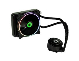 GameMax Iceberg 120mm ARGB Water Cooling System with 3pin AURA Sync Support
