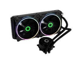 GameMax Iceberg 240mm ARGB Water Cooling System with 3pin AURA Sync Support