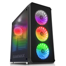 Game Max Moonstone RGB Full Tower Black Case