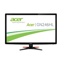 Acer G6 Series GN246HLBbid (24 inch) Full HD LED Backlit LCD Monitor 100M:1 350cd/m2 1920x1080 1ms HDMI/DVI *Open Box*