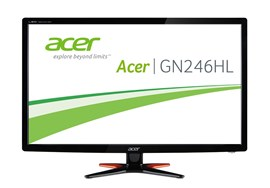 "Acer GN246HLB 24"" Full HD LED 144Hz Gaming Monitor"
