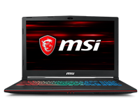 "MSI GP63 Leopard 8RE 15.6"" Laptop - Core i7 2.3GHz, 16GB RAM, 1TB"