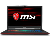 MSI GP73 Leopard 8RE 17.3 Gaming Laptop - Core i7 16GB RAM, 1TB