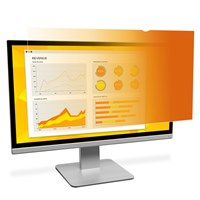 3M GPF19.0W Frameless 16:10 Gold Privacy Screen Filter  for 19.0 inch Widescreen(16:10) LCD Monitors - 98044055030