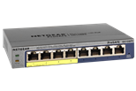 NETGEAR ProSAFE 8PT Gigabit POE Plus Switch