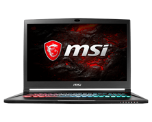 "MSI GS73VR 7RF Stealth Pro 17.3"" 8GB Gaming Laptop"