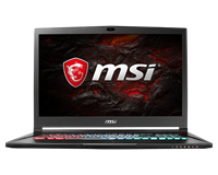 MSI GS73VR 7RG Stealth Pro 17.3 Gaming Laptop - Core i7 16GB, 2TB