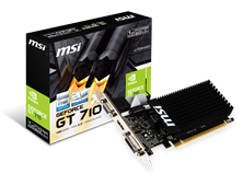 MSI GeForce GT 710 1GB Graphics Card