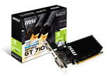 MSI Nvidia GeForce GT 710 Graphics Card (2GB) PCI Express DVI HDMI VGA