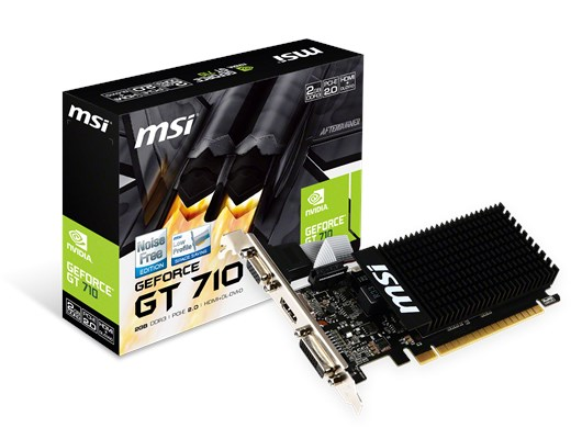MSI GeForce GT 710 2GB GPU