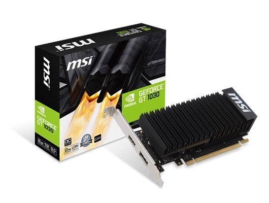 MSI GeForce GT 1030 2GB Graphics Card