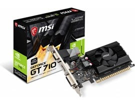 MSI GeForce GT 710 1GB GPU