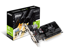 MSI GeForce GT 710 2GB Graphics Card