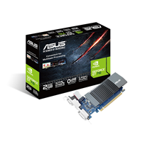 Asus GeForce GT 710 (2GB) Graphics Card PCI-E VGA/DVI/HDMI *Open Box*