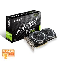 MSI GeForce GTX 1080 8GB ARMOR Boost Graphics Card