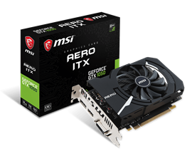 MSI GeForce GTX 1050 AERO ITX 2GB Graphics Card