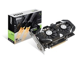 MSI GeForce GTX 1050 Ti 4GB Graphics Card
