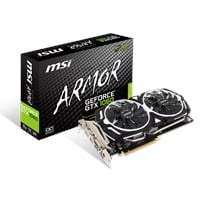 MSI GeForce GTX 1060 6GB ARMOR Boost Graphics Card