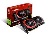 MSI Nvidia GeForce GTX 1080 GAMING X 8G (8GB) Graphics Card GDDR5X 1847MHz DVI (3 x DisplayPort) HDMI
