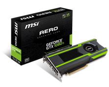 MSI GeForce GTX 1080 Ti AERO 11GB Graphics Card