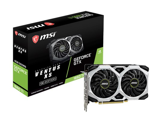 MSI GeForce GTX 1660 Ti Ventus XS 6GB