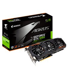 Gigabyte GeForce GTX 1060 Aorus 6GB Graphics Card