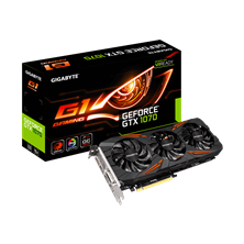 Gigabyte GeForce GTX 1070 G1 Gaming 8GB Card