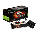 Gigabyte GeForce GTX 1080 Xtreme Gaming Water Cooling (8GB) Graphics Card PCI Express 3.0 DisplayPort/HDMI/DVI-D
