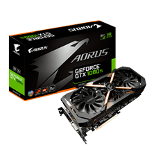 Gigabyte GeForce GTX 1080 Ti Aorus 11GB Card