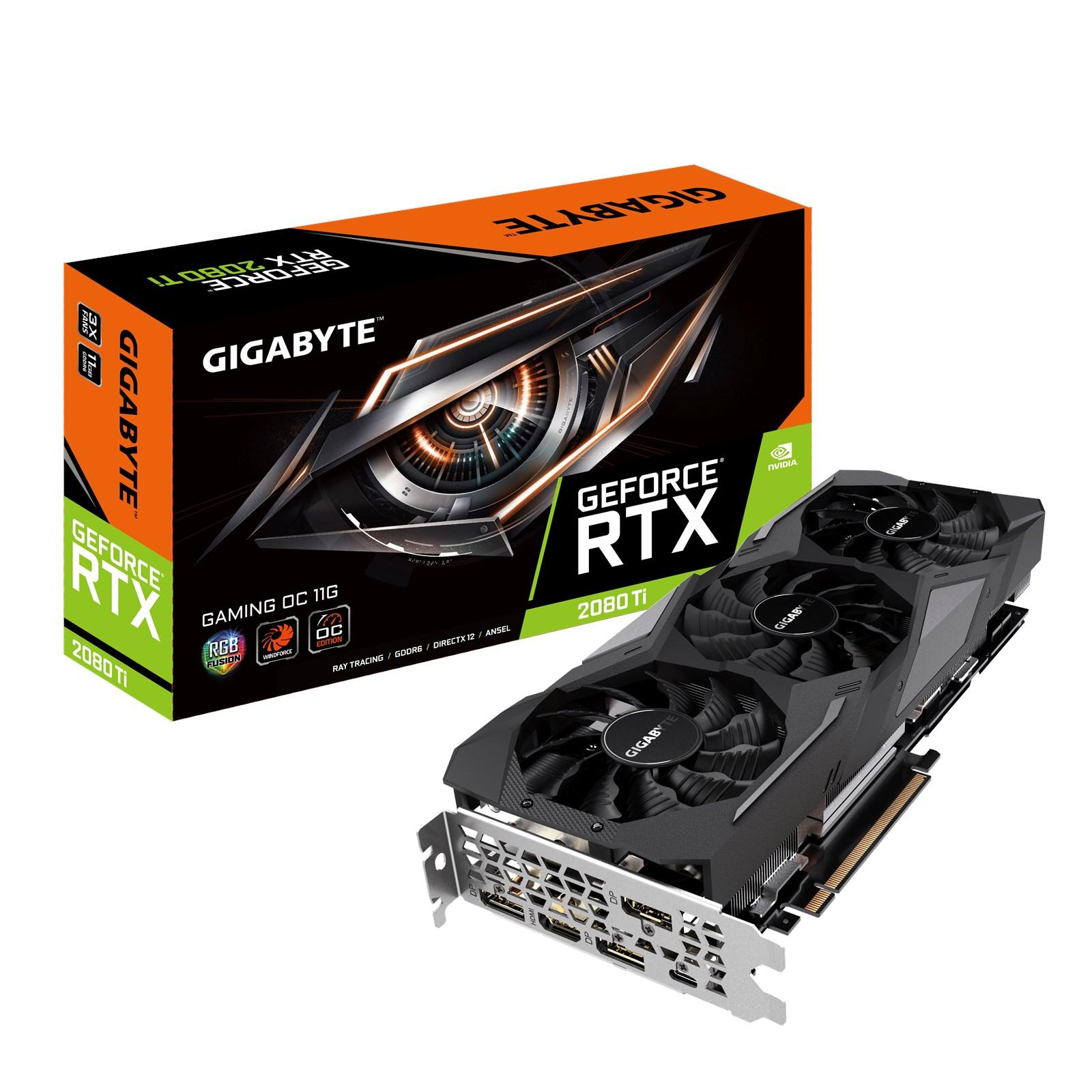 Gigabyte GeForce RTX 2080 Ti GAMING 11GB - GV-N208TGAMING OC