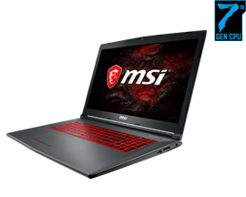 "MSI GV72 7RD 17.3"" 8GB 1TB Core i7 Gaming Laptop"