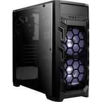 Antec GX202 Mid Tower Gaming Case - Black USB 3.0