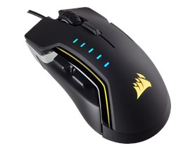 Corsair Glaive RGB Optical Gaming Mouse (Aluminium)