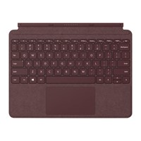 Microsoft Surface Go Signature Type Cover - Burgundy UK Layout