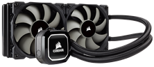 Corsair Hydro Series H100x 240mm All-in-One Liquid CPU Cooler