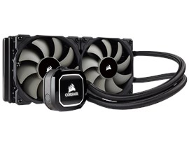Corsair Hydro Series H100x (240mm) High Performance Liquid CPU Cooler