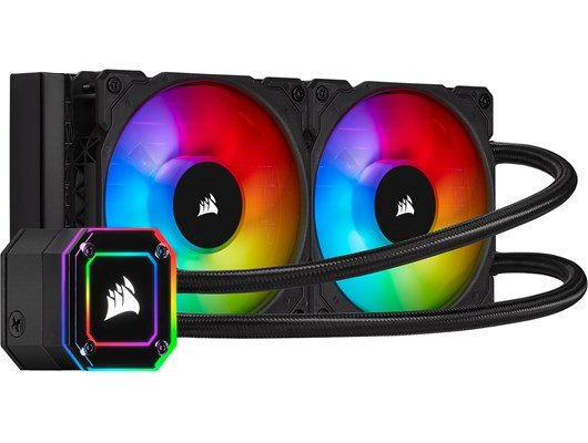 Corsair iCUE H100i Elite Capellix 240mm Liquid CPU Cooler