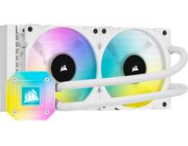 Corsair iCUE H100i ELITE CAPELLIX WHITE 240mm Liquid CPU Cooler