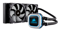 Corsair Hydro Series H100i Pro (240mm) RGB CPU Cooler