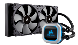Corsair Hyrdo Series H115i PRO (280mm) Liquid CPU Cooler