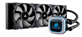 Corsair Hydro Series H150i PRO (360mm) RGB All-in-One Liquid CPU Cooler
