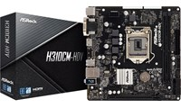 ASRock H310CM-HDV Intel Socket 1151 H310 Chipset MicroATX Motherboard *Open Box*