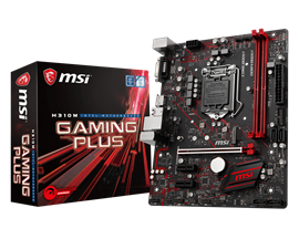 MSI H310M GAMING PLUS Intel Motherboard