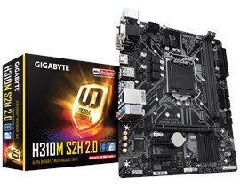 Gigabyte H310M S2H 2.0 Intel Socket 1151 H310 Chipset MicroATX Motherboard *Open Box*